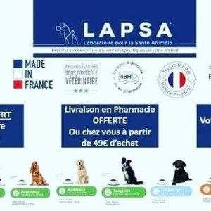Alimentation animale premium disponible exclusivement en pharmacie